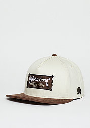 Snapback-Cap CL Finest Cuts sand/brown
