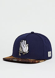 Snapback-Cap WL Break Bread Classic navy/gold