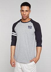 Longsleeve Raglan MLB New York Yankees light grey heather