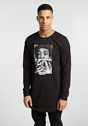 Longsleeve Wiz Half Face black