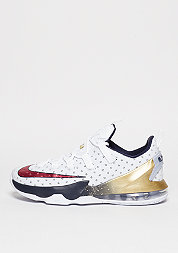 Le Bron XIII Low white/university red/obsidian