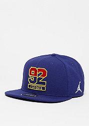 Snapback-Cap Jordan 7 92 deep royal blue/fire red