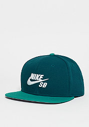Snapback-Cap Icon midnight turquoise/rio teal/black