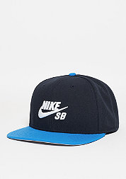 Snapback-Cap Icon dark obsidian/photo blue/black