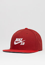 Snapback-Cap Icon dark cayenne/university red/black