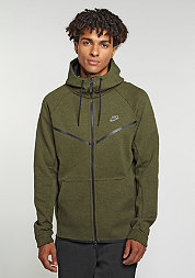 Tech Fleece Windrunner Hoodie dark loden/heather/black