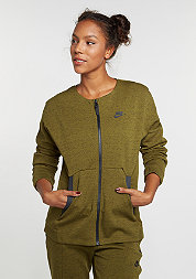 Trainingsjacke Tech Fleece Bomber olive flak/heather/olive flak