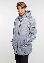 Hooded-Zipper Icon Fleece Full-Zip cool grey/black