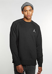 Sweatshirt Flight Fleece black/white