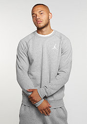 Sweatshirt Flight Fleece dark grey heather/white