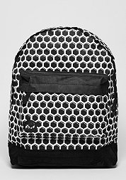 Rucksack Honeycomb black/white