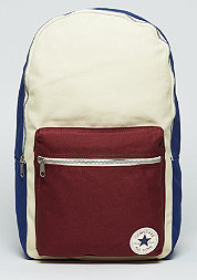Rucksack blue/natural/red