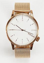 Horloge Winston Royale gold/white