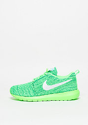 Roshe Flyknit voltage green/white/lcd green