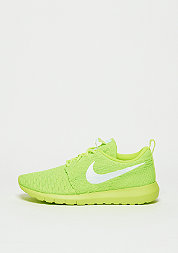 Roshe Flyknit volt/white/electric green