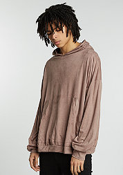 Velours Hoody taupe