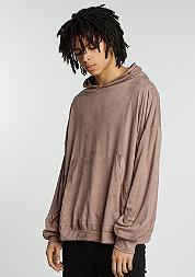 Hooded-Sweatshirt Velours taupe