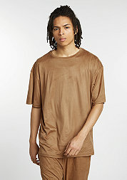 T-Shirt Velours camel