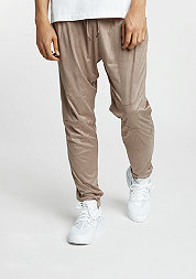 Trainingsbroek Velours Pants taupe