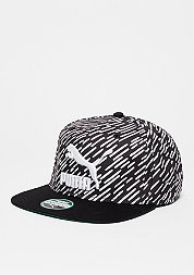 Snapback-Cap LS Colour Block barbados cherry/puma black