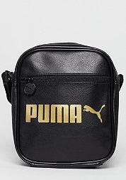 Umhängetasche Campus Portable puma black/gold