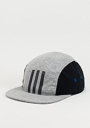 5-Panel-Cap Moon medium grey heather
