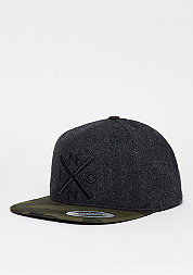Snapback-Cap Exchange wool/camo