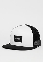 Trucker-Cap Team black/white