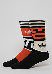 Sportsocke Solid Crew SO72 collegiate orange