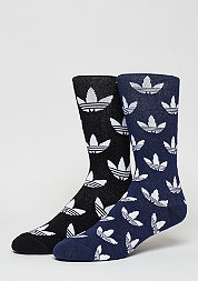 Fashionsocke Thin Crew Sock black