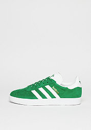 Gazelle green/white/gold metallic