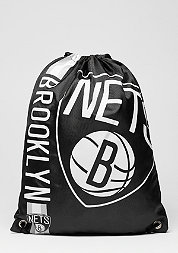 Turnbeutel Cropped Logo NBA Brooklyn Nets black