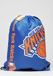 Turnbeutel Cropped Logo NBA New York Knicks royalblue