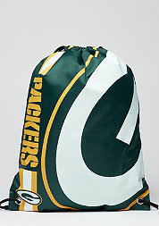 Turnbeutel Cropped Logo NFL Green Bay Packers green