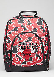Rucksack Camouflage NBA Chicago Bulls red