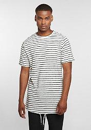 T-Shirt Striped black/white