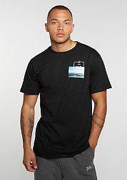 T-Shirt Wavy Living black