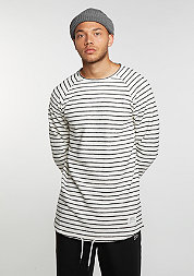 Longsleeve Striped black/white