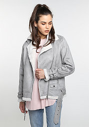 Aviator Jacket grey/offwhite