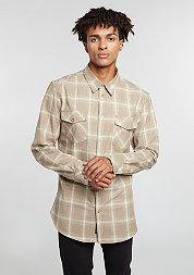 Hemd Flannel Shirt beige/taupe