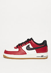Basketballschuh Air Force 1 gym red/black/gym light brown