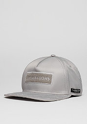 Snapback-Cap BL Flight grey/orange