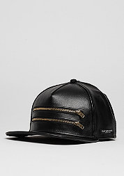 Snapback-Cap C&S CAP BL Zipped black/gold