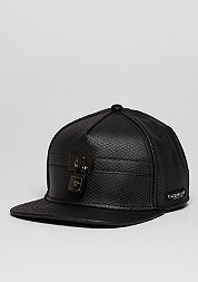 Snapback-Cap C&S CAP BL Lockdown black fishcale/red