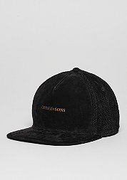 C&S CAP BL Apache Black Suede/gold