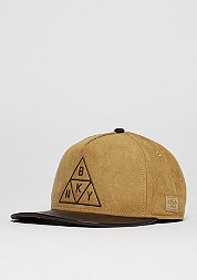 Snapback-Cap WL Briangle honey suede/ dark brown