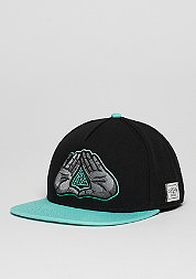 Snapback-Cap C&S Cap WL BKNY black/mint/grey