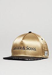 C&S CAP WL Infinity gold/black marble