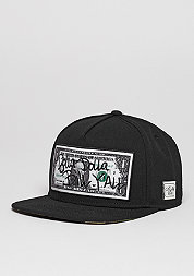 Snapback-Cap WL Dolla Dolla black/yellow/woodland