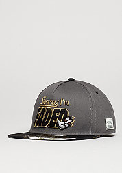 C&S Cap GL I´m Faded dark grey/black/gold